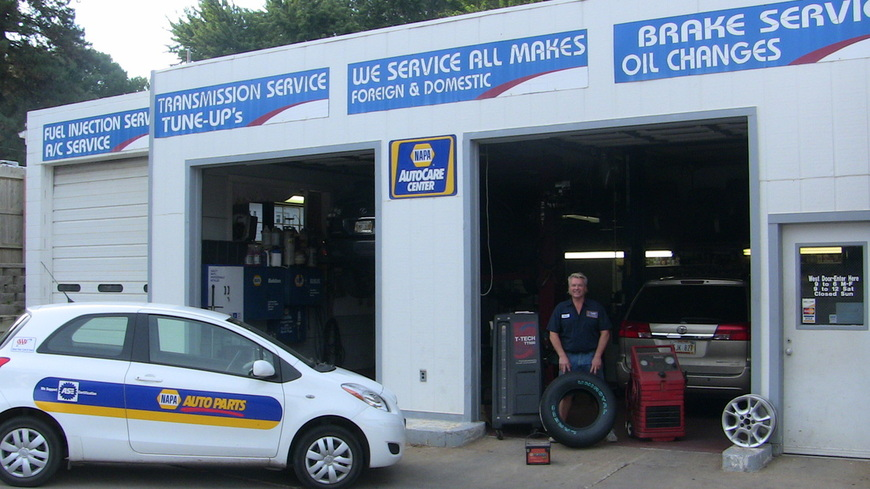 Ford transmission, brakes, oil, used Ford car and auto repair shop